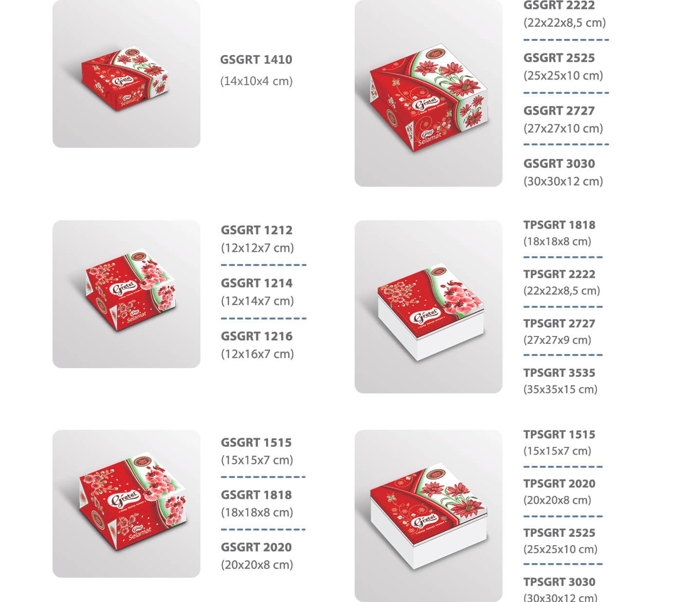 dus kue, dus roti, dus snack, snack box, box kue, kotak kue, box roti - gretel
