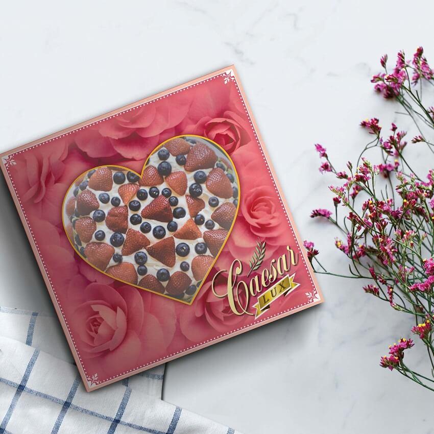 Dus Kue Cantik, Box Kue Elegan, Dus Kue Eksklusif - Caesar Lux