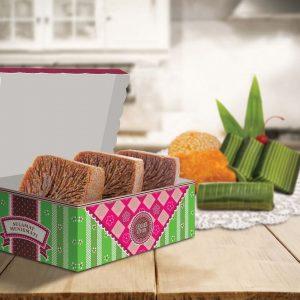 Kemasan Kue Basah, Box Kue, Dus Kue, Snack Box - Caesar R