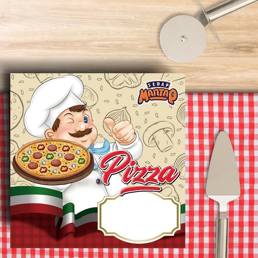dus pizza, box pizza, kemasan pizza, kotak pizza - sedap mantap pizza